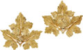 Estate Jewelry:Earrings, Gold Earrings, Buccellati. ... (Total: 2 Items)