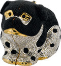 "Estate Jewelry:Purses, Austrian Crystal, Yellow Metal, ""Spotted Dog"" Evening Bag, JudithLeiber, circa 1988. ..."