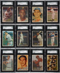 Baseball Cards:Sets, 1957 Topps Baseball Complete Set (407)....