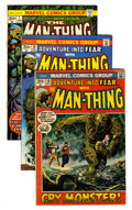 Bronze Age (1970-1979):Horror, Man-Thing Related Group (Marvel, 1972-81).... (Total: 48 ComicBooks)