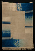 Rugs & Textiles:Carpets, RENE JOUBERT AND PHILIPPE PETIT FOR D.I.M. (DECORATION INTERIEURMODERNE) . A French Wool Carpet, circa 1930. Marks: signed ...