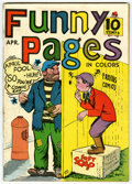 Golden Age (1938-1955):Miscellaneous, Funny Pages #10 (Centaur, 1937) Condition: FN....