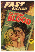 Golden Age (1938-1955):Classics Illustrated, Fast Fiction #2 Captain Blood (Seaboard Pub., 1949) Condition:VF....