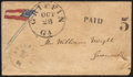 Stamps, 11-Star Flag Patriotic cover,...