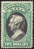 Stamps, $5 State (O69),...