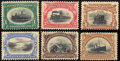 Stamps, 1c-10c Pan-Americans Complete (294-299),...