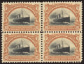 Stamps, 10c Yellow Brown & Black (299),...