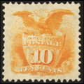 Stamps, 10c Yellow, Re-Issue (127),...