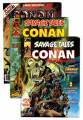 Magazines:Adventure, Savage Tales/Conan/Ka-Zar Related Group (Marvel, 1974-79) Condition: Average VF/NM.... (Total: 14 Comic Books)