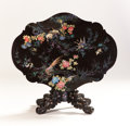 Asian:Japanese, A JAPANESE NAGASAKI LACQUER TABLE. Edo Period, 19th Century. 28 x50 x 38 inches (71.1 x 127 x 96.5 cm). ...