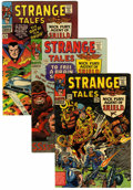 Golden Age (1938-1955):Horror, Strange Tales Group (Marvel, 1966-68) Condition: Average VF/NM....(Total: 7 Comic Books)