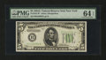 Small Size:Federal Reserve Notes, Fr. 1957-B* $5 1934A Federal Reserve Note. PMG Choice Uncirculated 64 EPQ.. ...