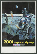 """Movie Posters:Science Fiction, 2001: A Space Odyssey (MGM, 1968). Herald (6"""" X 9""""). ScienceFiction.. ..."""