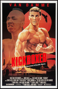 "Kickboxer (Cannon, 1989). One Sheet (27"" X 41""). Action"