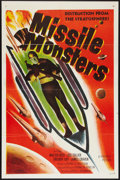 """Movie Posters:Science Fiction, Missile Monsters (Republic, 1958). One Sheet (27"""" X 41""""). ScienceFiction.. ..."""