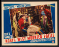 "Movie Posters:Adventure, North West Mounted Police (Paramount, 1940 and R-1958). Lobby Cards(3) (11"" X 14""). Adventure.. ... (Total: 3 Items)"