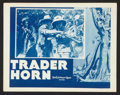 "Movie Posters:Adventure, Trader Horn (MGM, R-1940s). Lobby Cards (4) (11"" X 14"").Adventure.. ... (Total: 4 Items)"