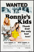 "Movie Posters:Bad Girl, Bonnie's Kids (General Film, 1972). One Sheet (27"" X 41""). BadGirl.. ..."