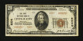 National Bank Notes:Kentucky, Central City, KY - $20 1929 Ty. 2 The First NB Ch. # 8229. ...