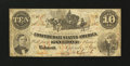 Confederate Notes:1861 Issues, T23 $10 1861.. ...