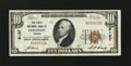 National Bank Notes:Oregon, Lebanon, OR - $10 1929 Ty. 1 The First NB Ch. # 9127. ...