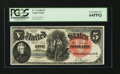 Large Size:Legal Tender Notes, Fr. 76 $5 1880 Legal Tender PCGS Very Choice New 64PPQ....