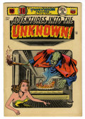 Golden Age (1938-1955):Science Fiction, Adventures Into The Unknown #51 (ACG, 1954) Condition: ApparentFN+....