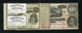 Confederate Notes:1864 Issues, T68 $10 1864 Fine.. ... (Total: 4)