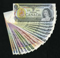 Canadian Currency: , Canadian Money.. ... (Total: 17 notes)