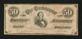 Confederate Notes:1864 Issues, CT66/501 $50 1864.. ...