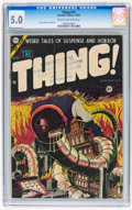 Golden Age (1938-1955):Horror, The Thing! #15 (Charlton, 1954) CGC VG/FN 5.0 Cream to off-whitepages....