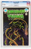 Bronze Age (1970-1979):Horror, Swamp Thing #8 (DC, 1974) CGC NM+ 9.6 Off-white to white pages....
