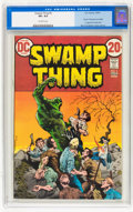 Bronze Age (1970-1979):Horror, Swamp Thing CGC-Graded Group (DC, 1973-75).... (Total: 6 )