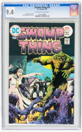 Bronze Age (1970-1979):Horror, Swamp Thing CGC-Graded Group (DC, 1975-76) Condition: Average NM9.4.... (Total: 4 )