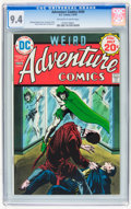 Silver Age (1956-1969):Adventure, Adventure Comics #434 (DC, 1974) CGC NM 9.4 Off-white to white pages....