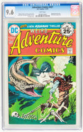 Bronze Age (1970-1979):Horror, Adventure Comics #437 (DC, 1975) CGC NM+ 9.6 White pages....