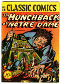 Golden Age (1938-1955):Classics Illustrated, Classic Comics #18 The Hunchback of Notre Dame - Original Edition(Gilberton, 1944) Condition: VG+....