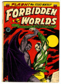 Golden Age (1938-1955):Horror, Forbidden Worlds #7 (ACG, 1952) Condition: VG/FN....