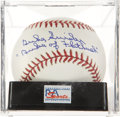 "Autographs:Baseballs, Duke Snider ""Duke of Flatbush"" Single Signed Baseball, PSA Mint9...."