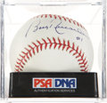 Autographs:Baseballs, Bobby Richardson Single Signed Baseball PSA Mint+ 9.5. ...
