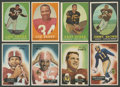 Football Cards:Sets, 1955-1960 Topps & Bowman Football Collection (366). ...