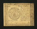 Colonial Notes:Continental Congress Issues, Continental Currency September 26, 1778 $40 About New....