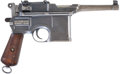 Military & Patriotic:WWI, Mauser Broomhandle Bolo C96 Semi-Automatic Pistol....