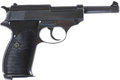 Military & Patriotic:WWII, German Walther (ac 44) P-38 Semi-Automatic Pistol....