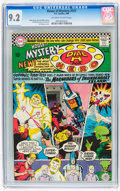 Silver Age (1956-1969):Horror, House of Mystery #157 (DC, 1966) CGC NM- 9.2 Off-white to white pages....