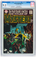 Silver Age (1956-1969):Horror, House of Mystery #177 (DC, 1968) CGC NM- 9.2 Off-white to whitepages....