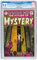 Silver Age (1956-1969):Horror, House of Mystery #174 (DC, 1968) CGC VF/NM 9.0 Cream to off-whitepages....