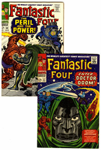 Fantastic Four #57 and 60 Group (Marvel, 1967) Condition: Average VF+.... (Total: 2 Comic Books)