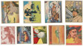 "Non-Sport Cards:Lots, 1930's-1950's Non-Sport ""Military/War"" and ""Western"" ThemeCollection (226). ..."