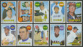 Baseball Cards:Sets, 1969 Topps Baseball Complete High-Number Series (#'s 589-664). ...
